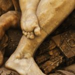 Statue foot image